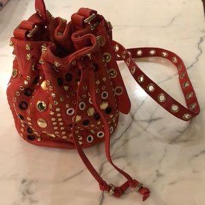 Marc By Marc Jacobs RARE orange bucket bag